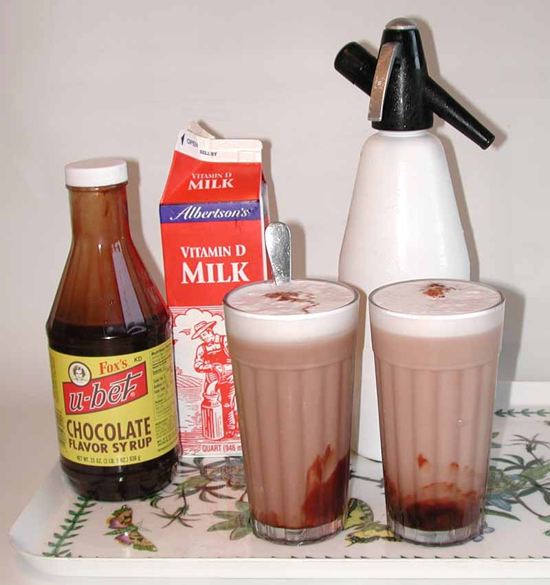 jay s real new york city egg cream the chocolate egg cream which as ...